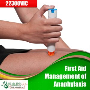 First Aid Management of Anaphylaxis Training Course