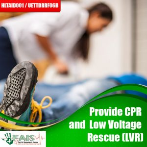 Provide CPR & Low Voltage Rescue (LVR) Training Course