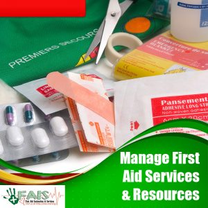 Manage First Aid Services and Resources Training Course
