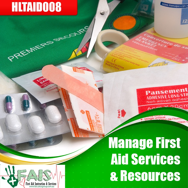 Manage First Aid Services & Resources Course