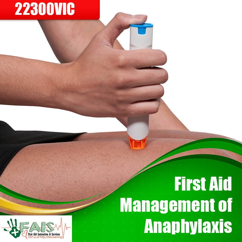 First Aid Management of Anaphylaxis