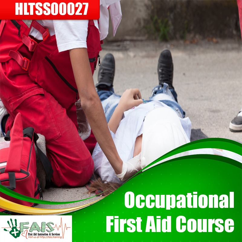 Occupational First Aid Course